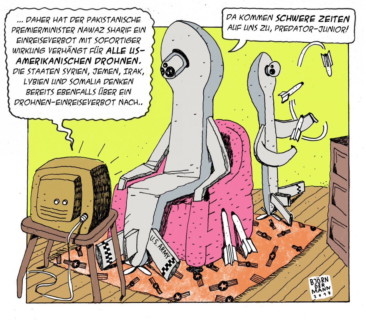 Björn Dermann Comic